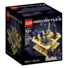 Конструктор Minecraft Микромир: край 417 деталей