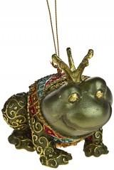 Новогоднее украшение Царевна-лягушка