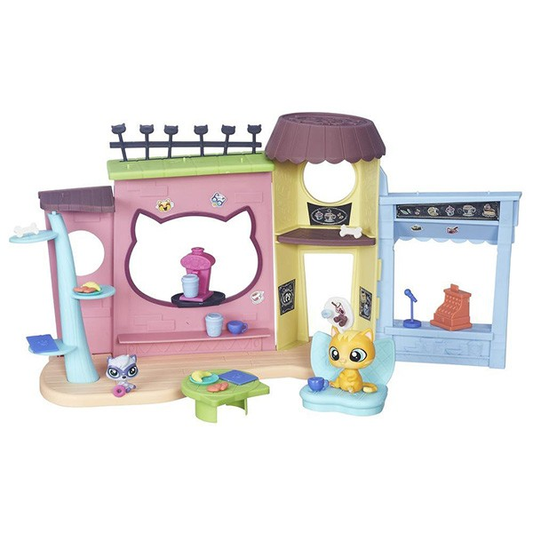 Игровой набор Hasbro Littlest Pet Shop Кафе