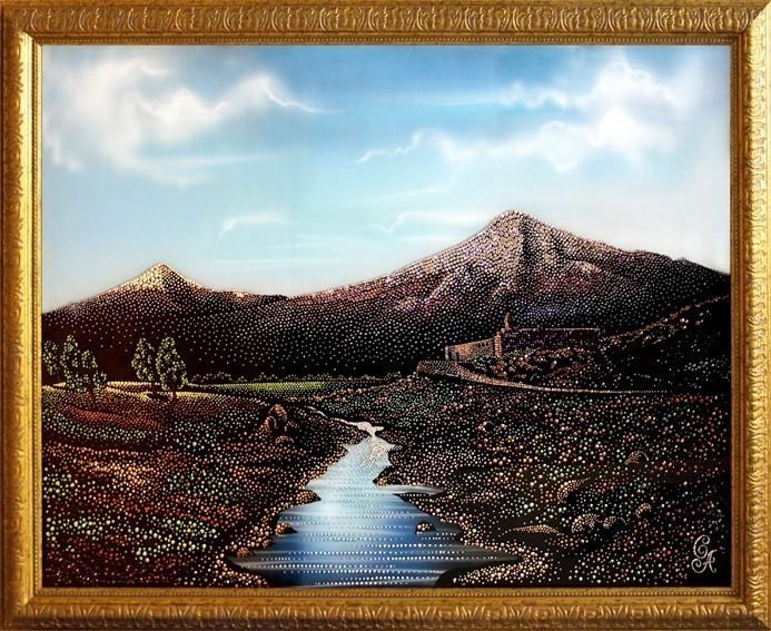 Картина Swarovski Арарат