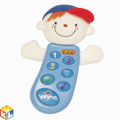 Музыкальный телефон с записью Ks kids