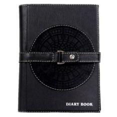 Черный ежедневник формата А5 «Бизнес»