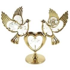 Декоративная фигурка Голуби с сердцем