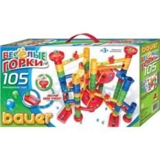 Конструктор Bauer Весёлые горки (105 элементов)