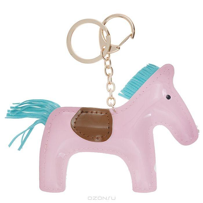 Подвеска-брелок Cheribags, цвет: розовый. Лошадь 1