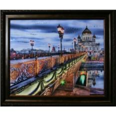 Картина с кристаллами Сваровски Патриарший мост