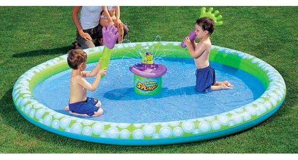 Надувной игровой центр-бассейн Ладошки