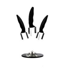 Набор керамических ножей на подставке Frank Moller