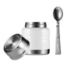 Белый термос для еды Lunch spot