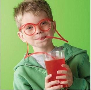 Очки-трубочки для напитков