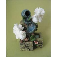 Декоративный фонтан Голуби и кувшины
