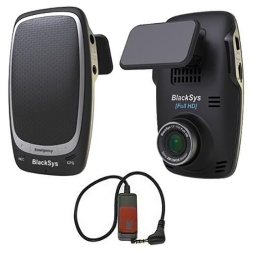 Автомобильный видеорегистратор Full-HD BlackSys CF-100 GPS