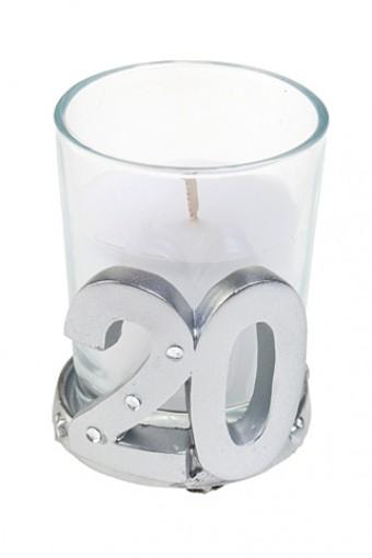 Свеча 20 - юбилей