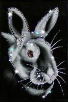 Картина Swarovski Новогодний кролик
