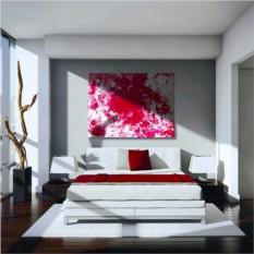 Набор абстрактной живописи Love as Art Passion Red