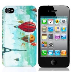 Чехол для iPhone 4/4S Париж