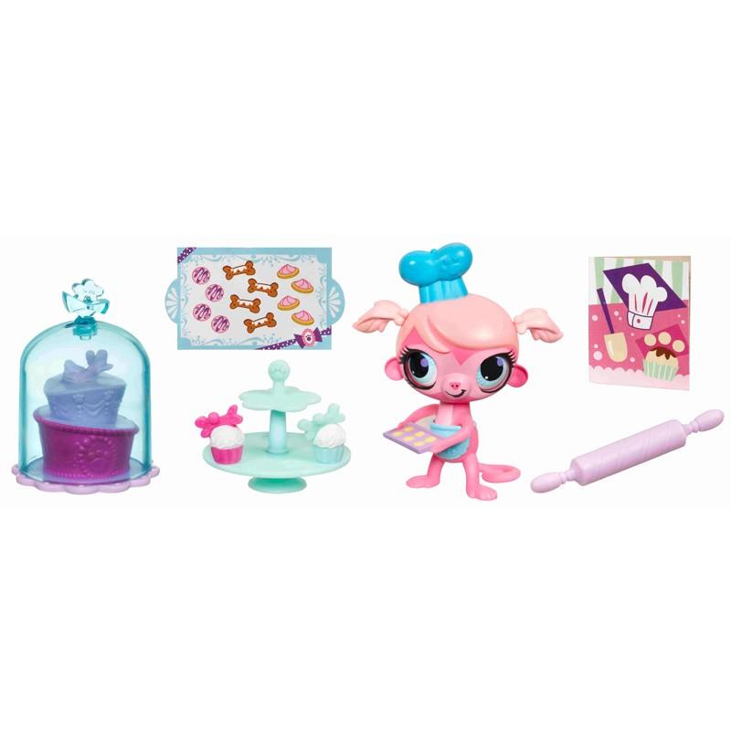 Игровой набор Littlest Pet Shop Деликатесы, в ассортименте