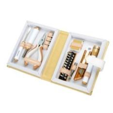 Набор инструментов из 21 предмета в футляре в виде книги
