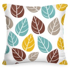 Декоративная подушка «Листья»