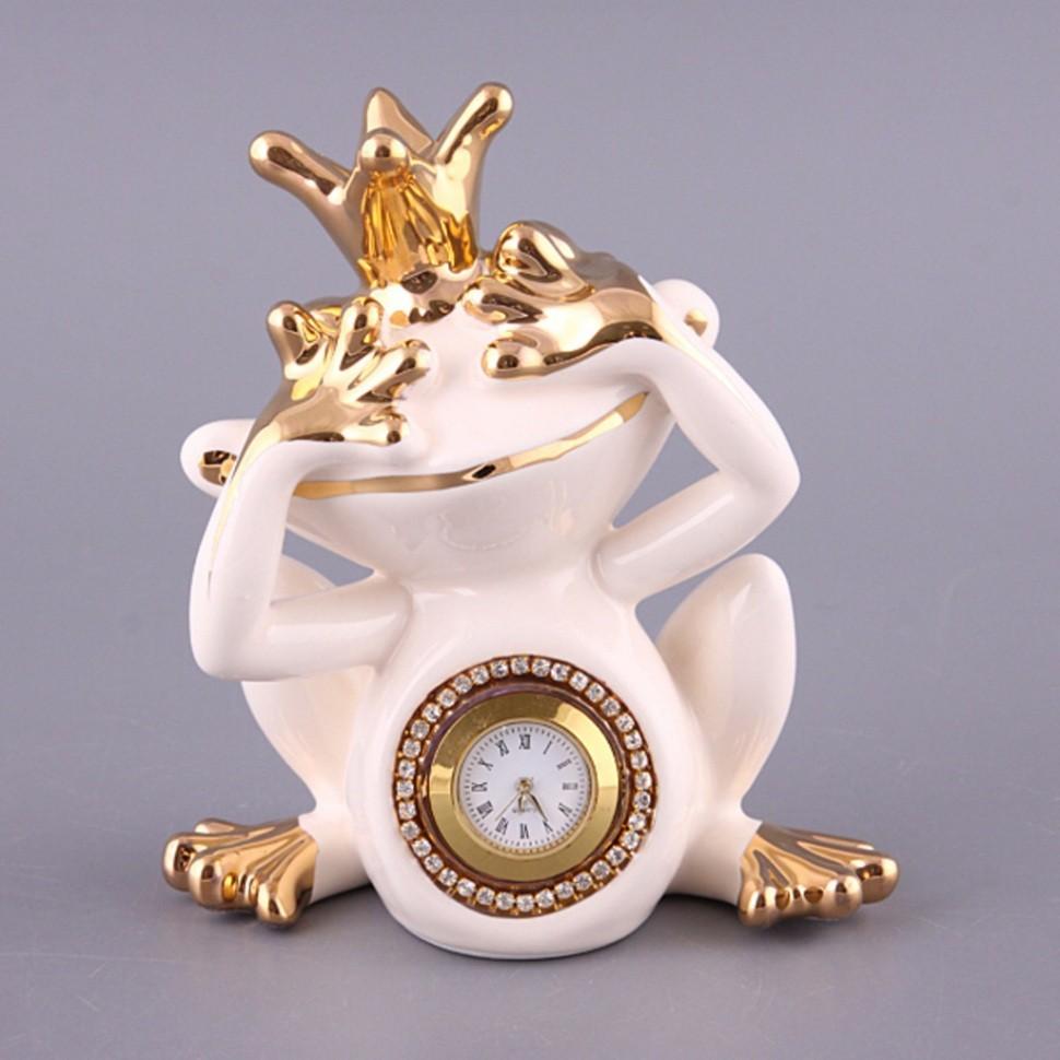 Настольные часы Белая лягушка Hangzhou Jinding