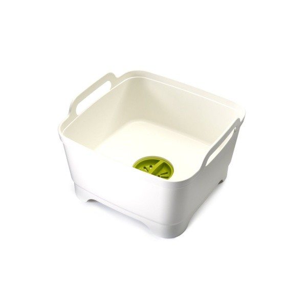 Контейнер для мытья посуды Wash and Drain™, белый