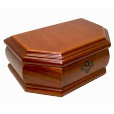 Деревянная шкатулка для хранения аксессуаров и украшений