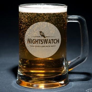 Пивная кружка Nights Watch с гравировкой