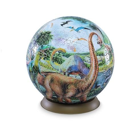 Шаровый пазл Динозавры