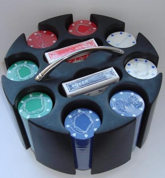 Набор для покера Round Case 200