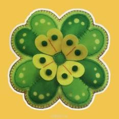 Набор для шитья из фетра Зеленый цветок