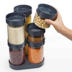 Набор емкостей для хранения Food Store Carousel