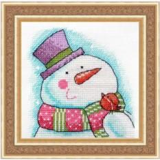 Набор для вышивания Neocraft Снеговик