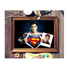 Портрет по фото Супермен