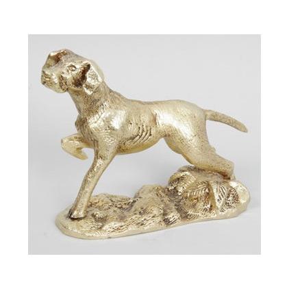 Статуэтка из бронзы «Собака»