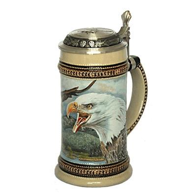 Кружка пивная «Белоголовый орлан»