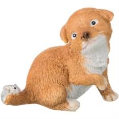 Декоративная фигурка Собачка с мышкой
