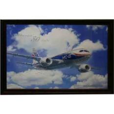 Картина Самолет МС-21