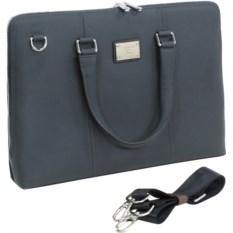Кожаная сумка для ноутбука Continent CL-105 Blue