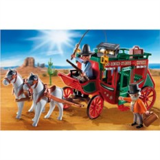 Конструктор Playmobil Western Дилижанс