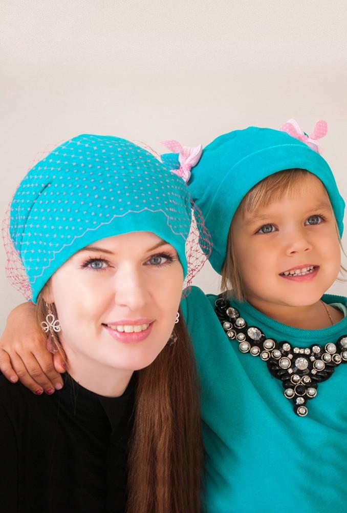 Комплект шапок Вуалька + Женева
