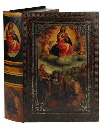 Набор шкатулок-фолиантов Дева с четырьмя Святыми