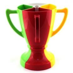 Разноцветный набор из 4 бокалов Кубок