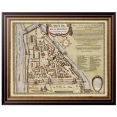 Старинная карта Москвы – Кремленаград