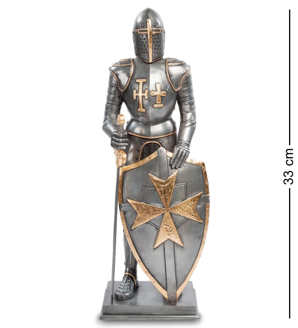 Статуэтка Рыцарь с мальтийским крестом на щите