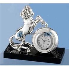 Часы Конь на дыбах, серебро