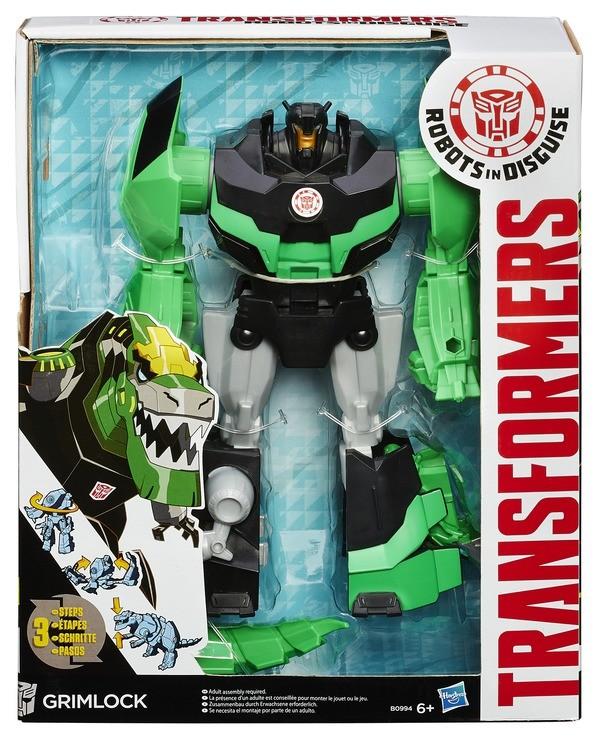 TRANSFORMERS Роботс-ин-Дисгайс Гиперчэндж (Hasbro)