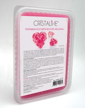 Косметический парафин CRISTALINE, малиновый