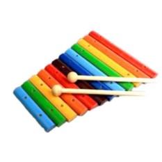 Развивающая игрушка Ксилофон, 12 тонов (цвет: окрашенный)