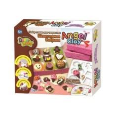 Глина для детского творчества Шоколадная мастерская
