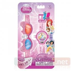 Детские наручные часы Принцессы Дисней с 3D очками